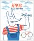 Renard sauve son vélo