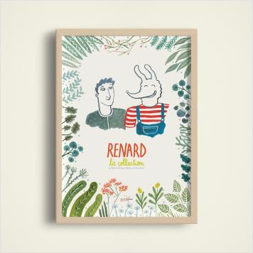 Affiche Collection Renard